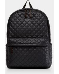 MZ Wallace - Quilted Black Metro Backpack - Lyst