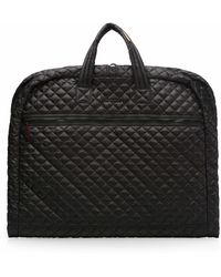 MZ Wallace - Garment Bag | Black Quilted Oxford Nylon - Lyst