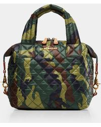MZ Wallace - Green Camo Print Small Sutton - Lyst