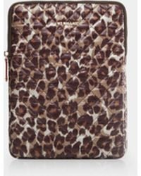 "MZ Wallace - Leopard Print 13"" Computer Case - Lyst"