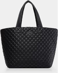 MZ Wallace - Quilted Black Large Metro Tote - Lyst