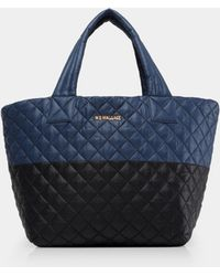MZ Wallace - Oxford Metro Small Colour Block Tote - Lyst