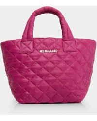 MZ Wallace - Quilted Zinnia Micro Metro Tote - Lyst