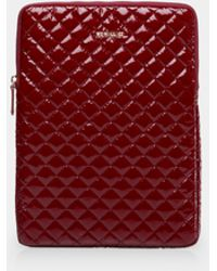 "MZ Wallace - Cranberry Lacquer 15"" Computer Case - Lyst"