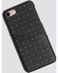 Calvin Klein - Grid Iphone Case Calvin Grid - Lyst