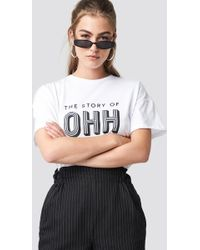 Gestuz - Ohh White T-shirt - Lyst