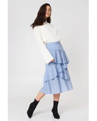 Endless Rose - Pin Striped Skirt - Lyst