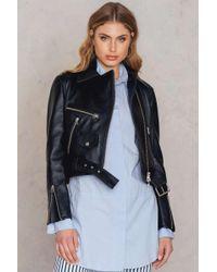 Malene birger leather jacket