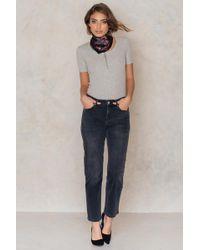 Filippa K - Alex Grey Wash Jeans - Lyst