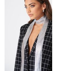 NA-KD - Chain Mail Scarf - Lyst
