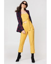 MINKPINK - Tapered Pant Golden Yellow - Lyst