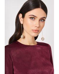 NA-KD - Royal Globe Drop Earrings - Lyst