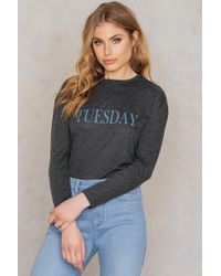 NA-KD | Tuesday Long Sleeve Top | Lyst