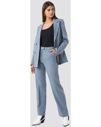 NA-KD - Regular Fit Suit Pants Gray - Lyst