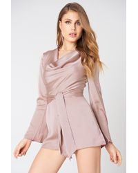 Finders Keepers - Aspects Playsuit - Lyst