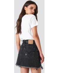 Levi's - Deconstructed Skirt - Lyst