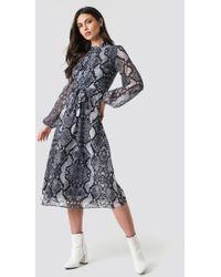 85066e1d0c1 Alexander Wang Shirtdress With Binding Tie Detail in Black - Lyst