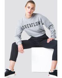NA-KD - Overflow Sweatshirt Grey Melange - Lyst