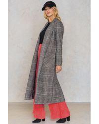 Glamorous | Long Front Pocket Coat | Lyst
