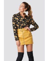 Glamorous - Belted Mini Skirt - Lyst