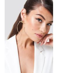 NA-KD - Double Circle Earring - Lyst