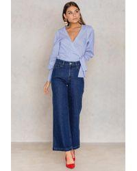 Filippa K - Ollie Indigo Blue Wash Jeans - Lyst