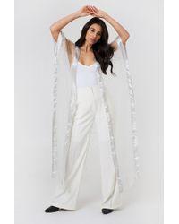 NA-KD - Beaded Glitter Kimono - Lyst