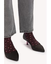 mpDenmark - Ankle Swan Sock - Lyst