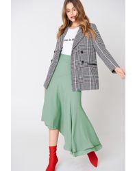 NA-KD - Asymmetric Block Skirt - Lyst