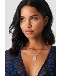 NA-KD - Zodiac Aries Necklace Silver - Lyst