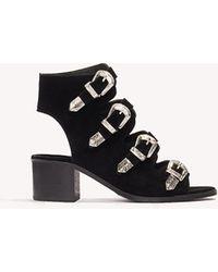Trendyol - Siyah Sandal - Lyst
