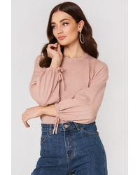 Mango - Puffed Sleeves Jumper - Lyst