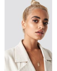 NA-KD - Matilda Djerf Wave Necklace - Lyst
