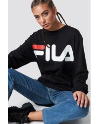 Fila - Classic Logo Sweat - Lyst