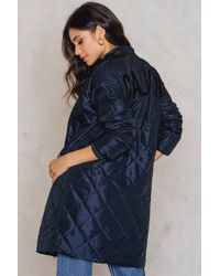 Calvin Klein - Orion Quilted Coat - Lyst