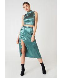 Glamorous - Midi Slit Skirt - Lyst