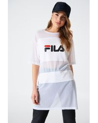 Fila - Emily Tee Dress - Lyst