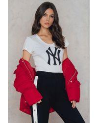 47 Brand | New York Splitter Scoop Tee | Lyst