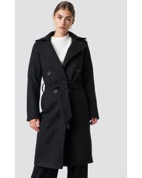 Rut&Circle - Tove Long Coat Black - Lyst