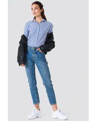 Rut&Circle - Louisa High Waist Jeans Blue Wash - Lyst