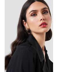 NA-KD - Wire Blossom Earrings - Lyst