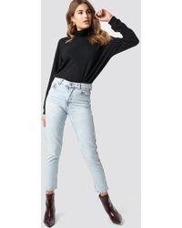 Mango - Mom Jeans Bleach - Lyst
