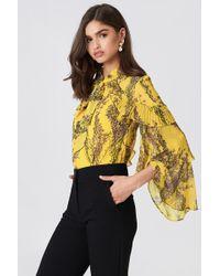 Keepsake - Light Up Ls Top Golden Wildflower Floral - Lyst