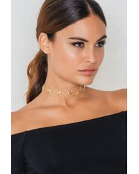NA-KD | Structured Multi Ring Choker | Lyst