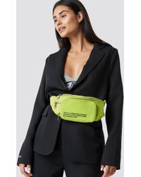 NA-KD - The Classy Fanny Pack Yellow Lime - Lyst