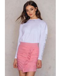 7076158339 NA-KD Mini Pleated Skirt Pink in Pink - Lyst
