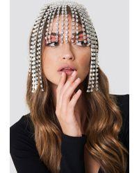 NA-KD - Rhinestone Hair Jewellery - Lyst