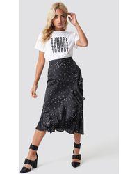 Rut&Circle - Dotty Frill Skirt - Lyst