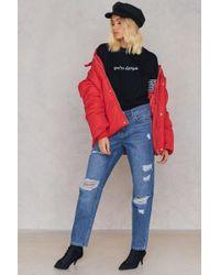 Trendyol - Ripped Boyfriend Jeans - Lyst