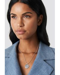 NA-KD - Zodiac Aquarius Necklace - Lyst